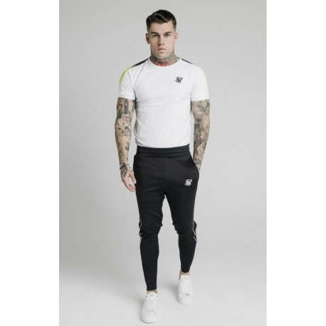SikSilk ss-16673 S / S Fade Panel Tech Tee