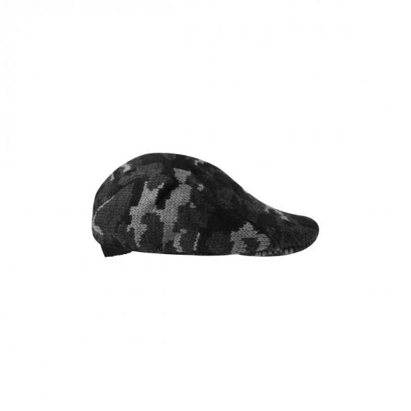 Biston 38-601-001 unisex πλεχτό καπέλο dark grey camo