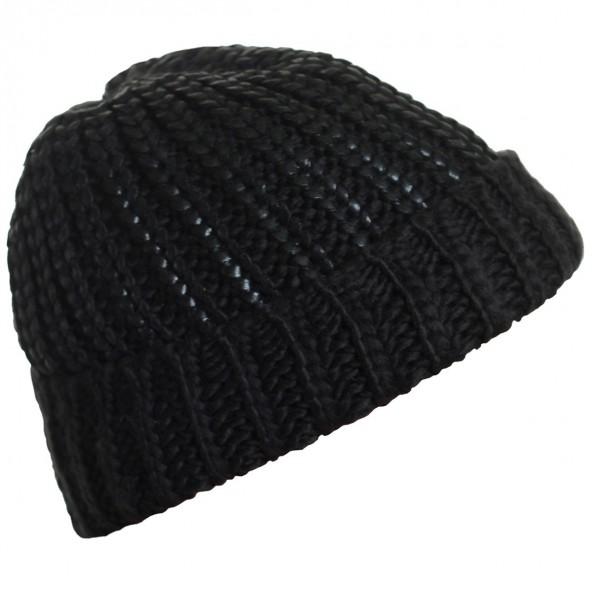 Biston 38-601-002 unisex πλεχτό καπέλο black