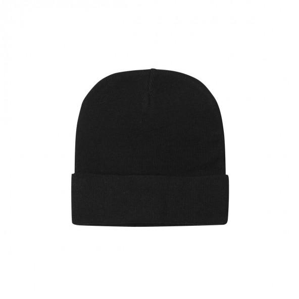 Biston 38-601-003 unisex πλεχτό καπέλο black