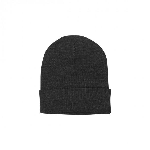 Biston 38-601-003 unisex πλεχτό καπέλο dark grey