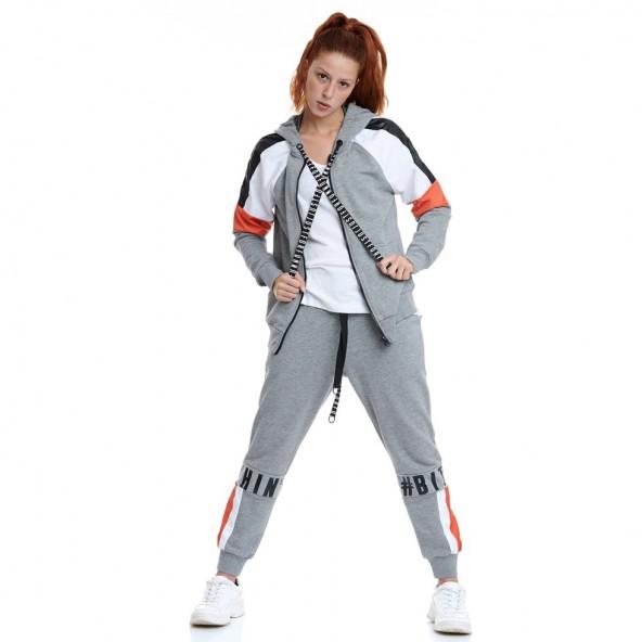 Bodytalk 1202-905300 54680 παντελόνι grey mel