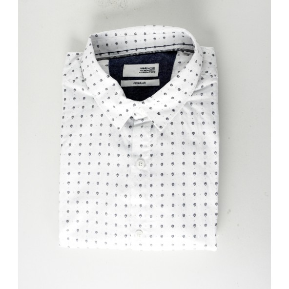 Solid 21104460 790001 shirt white