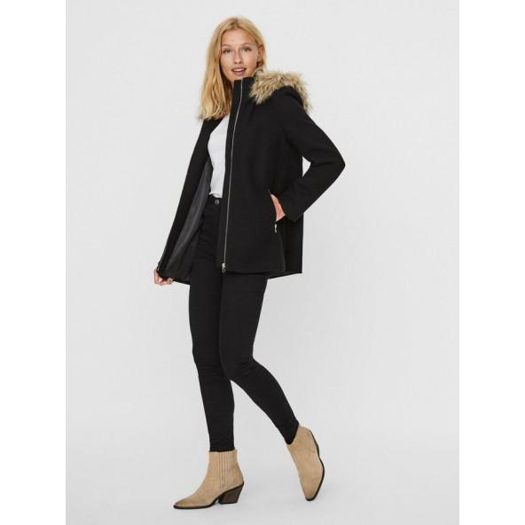 Vero moda 10230890 παλτο black