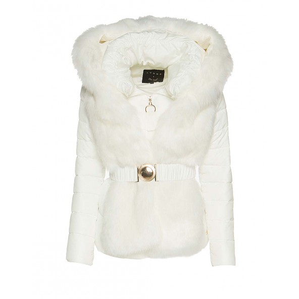 Lynne 044-517011 λευκο μπουφαν