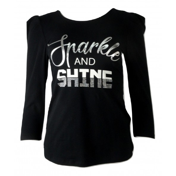 Lynne 042-510007 μπλουζα μαυρη