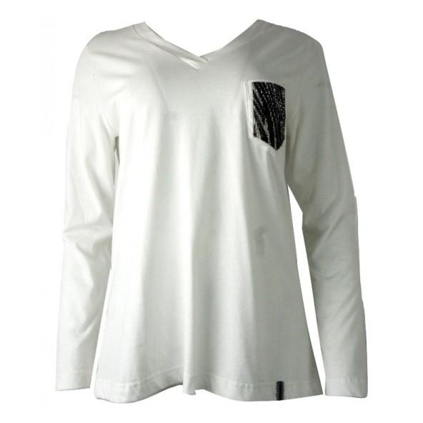 Passager 48228 μπλουζα λευκη