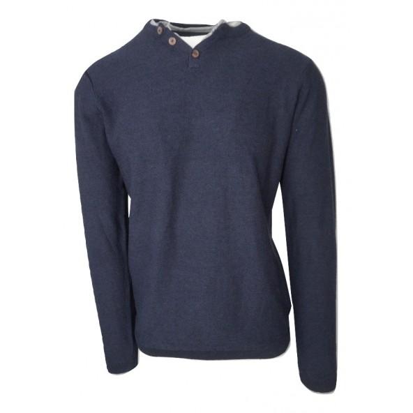 Garage GAM206-09218 μπλούζα indigo melange