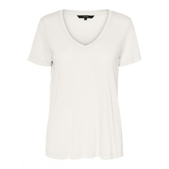 Vero moda 10217940 t-shirt curvy blue fog
