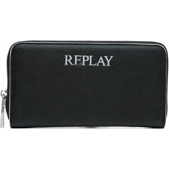 Replay FW5255.000.A0283-098 πορτοφολι μαυρο