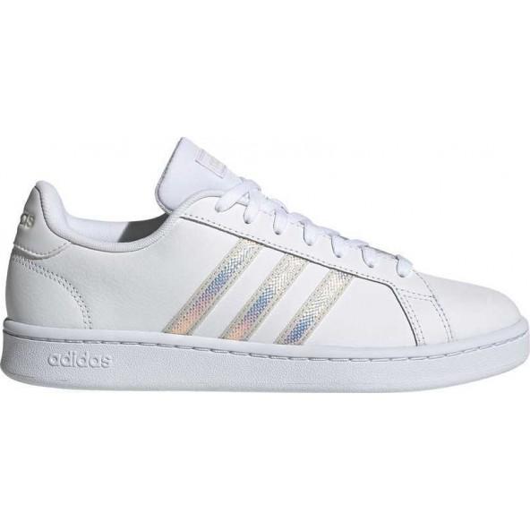 Adidas Grand Court ΓΥΝΑΙΚΕΙΟ ΠΑΠΟΥΤΣΙ ΛΕΥΚΟ FW3734
