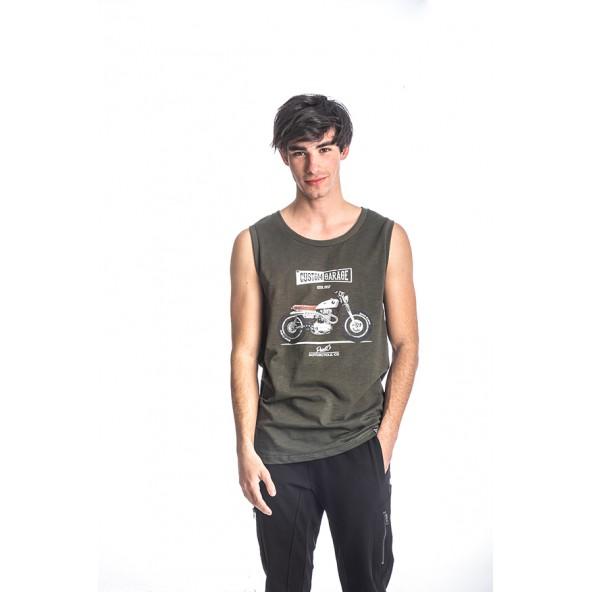 Paco 213641 ανδρική μπλούζα λαδί