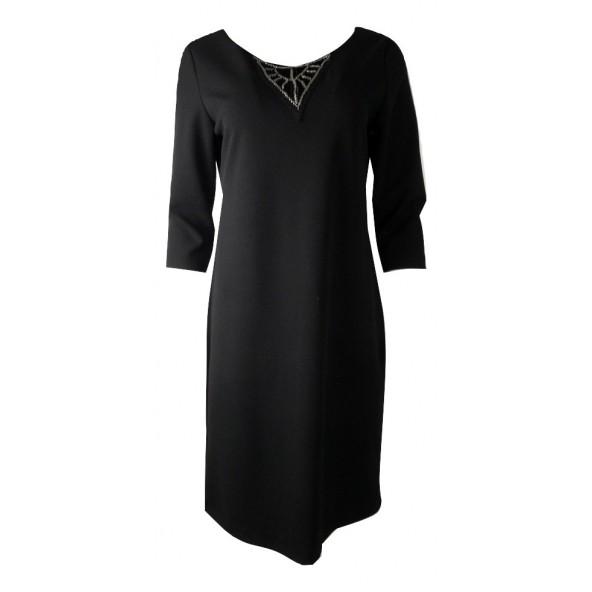 Rodini ΦΡ-160516 φορεμα μαυρο
