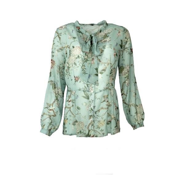 Mdsfashion DC0333-60193 πουκαμισο φλοραλ βεραμάν