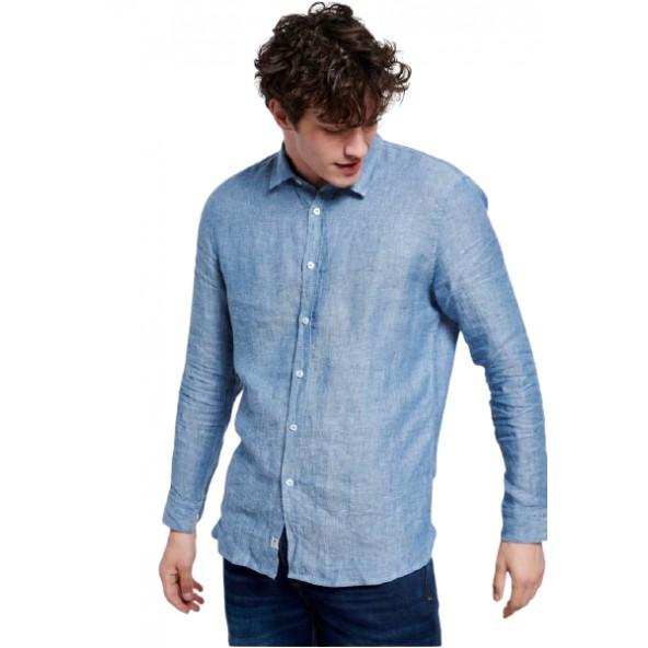 Funky FBM003-021-05 πουκάμισο indigo