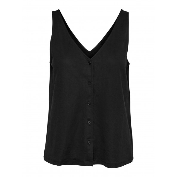 Vero moda 10250310 black curve top