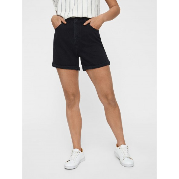 Vero moda 10210384 black loose shorts