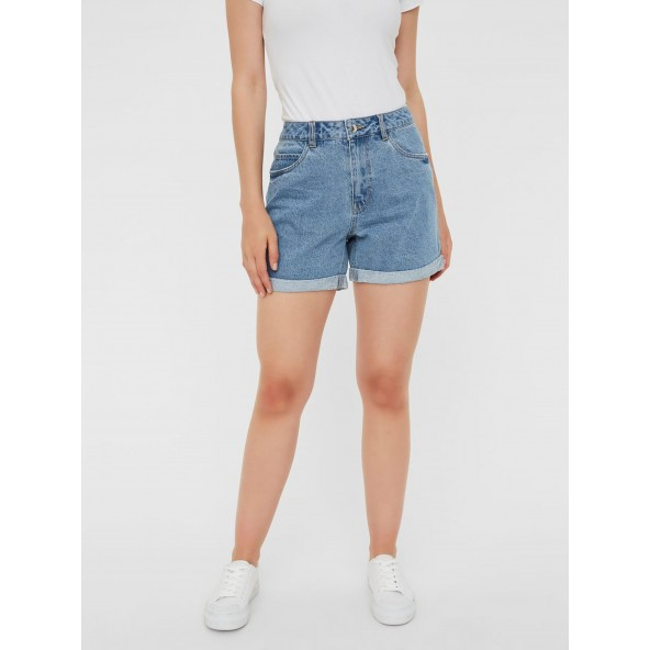 Vero moda 10210384 light blue loose shorts
