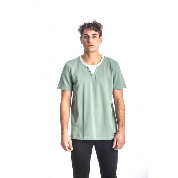 Paco 213612 μπλούζα φυστικί