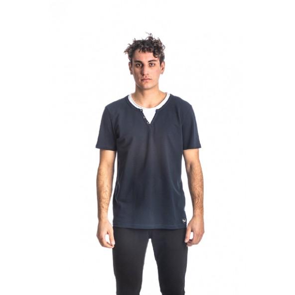 Paco 213612 μπλούζα μαύρη