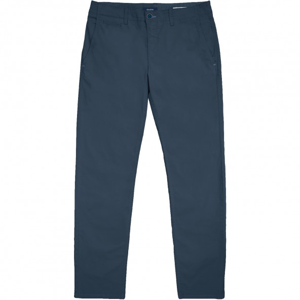 Double CP-232A CHINO PANTS BLUE NAVY