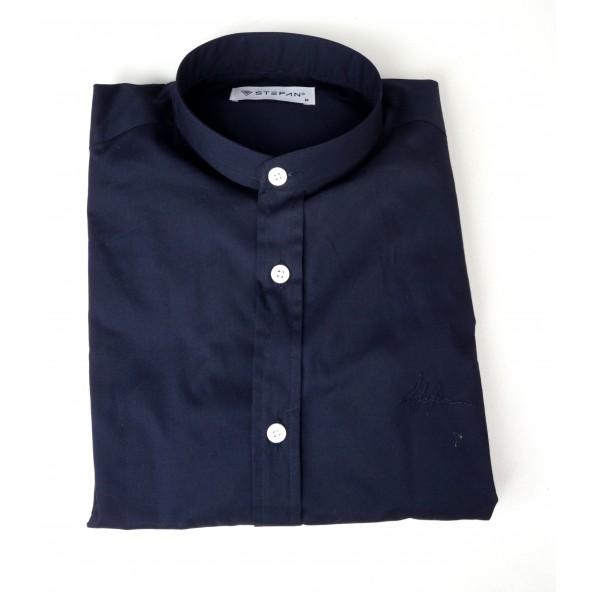 Stefan 9035-s/s 21 πουκάμισο blue navy