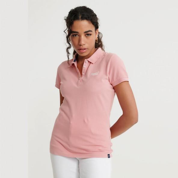 Superdry Polo shirt W6010017A πολο ροζ