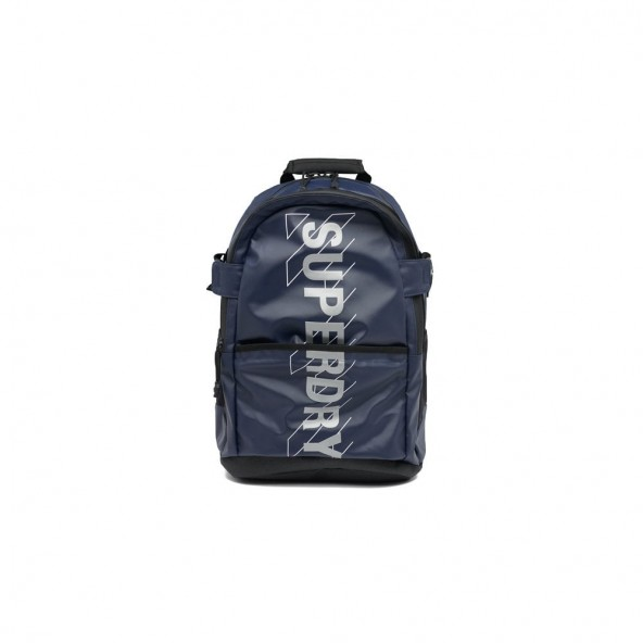 Superdry sport code tarp backpack M9110412A 11S τσάντα navy