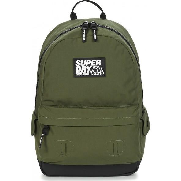 Superdry classic montana M9110057A SOR τσάντα λαδί
