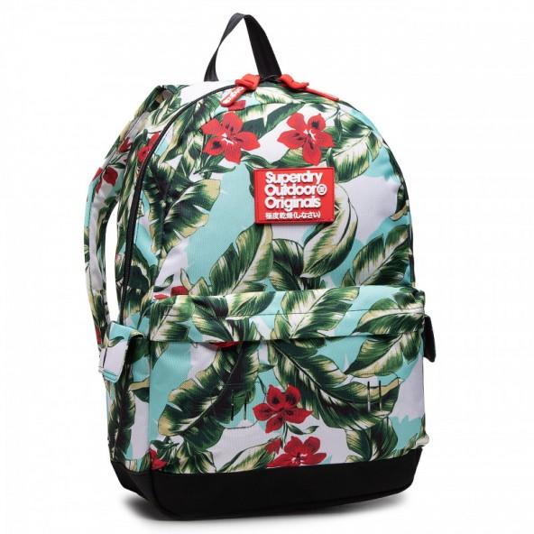 Superdry hawaiin montana W9110130A 3JI τσάντα floral