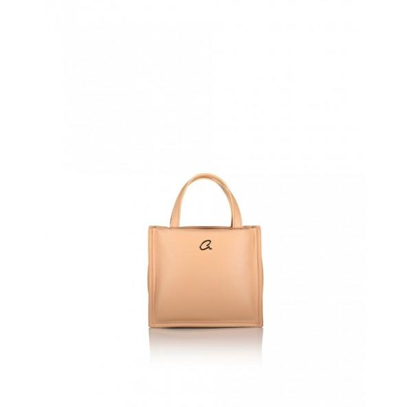 Axel 1020-0454 001 Axel Sophia Γυναικεία Τσάντα Shopper σε ΜΠΕΖ χρώμα