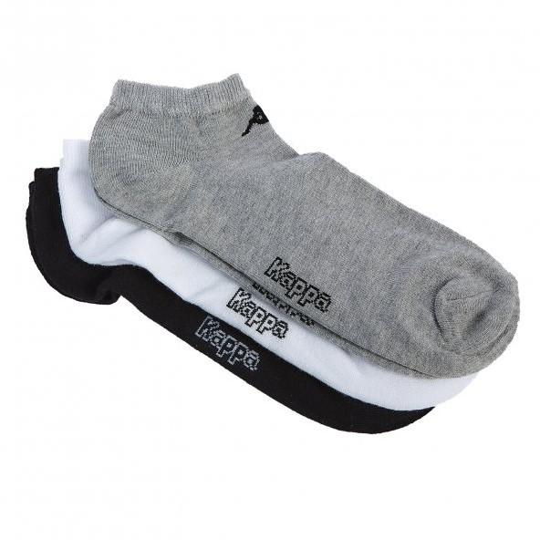 Kappa 2956900000 wh-bl-mel κάλτσες