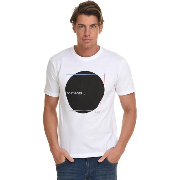 Biston 45-206-049 μπλουζα λευκή
