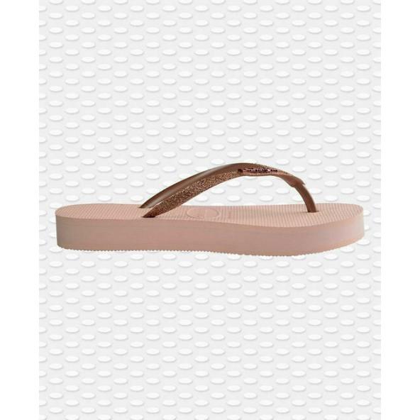 Havaianas Slim Flatform Glitter 4144764-0076 Pink Shine