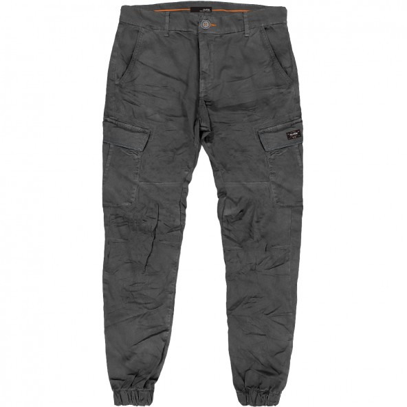 Double CCP-21A Chinos Cargo Pants black