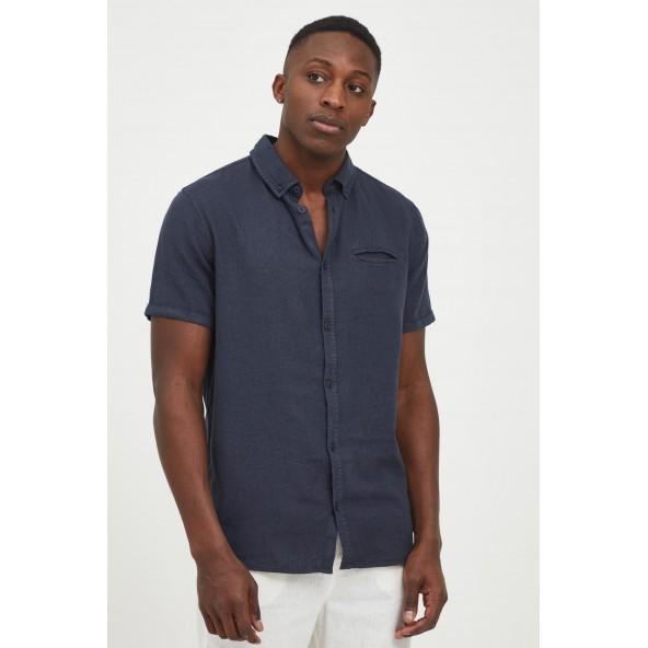 Solid 21105138 SDReginald shirt 194010 insignia blue