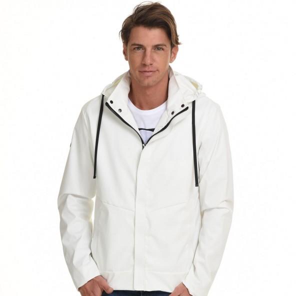 Splendid 45-201-003 κοντό πανωφόρι λευκό