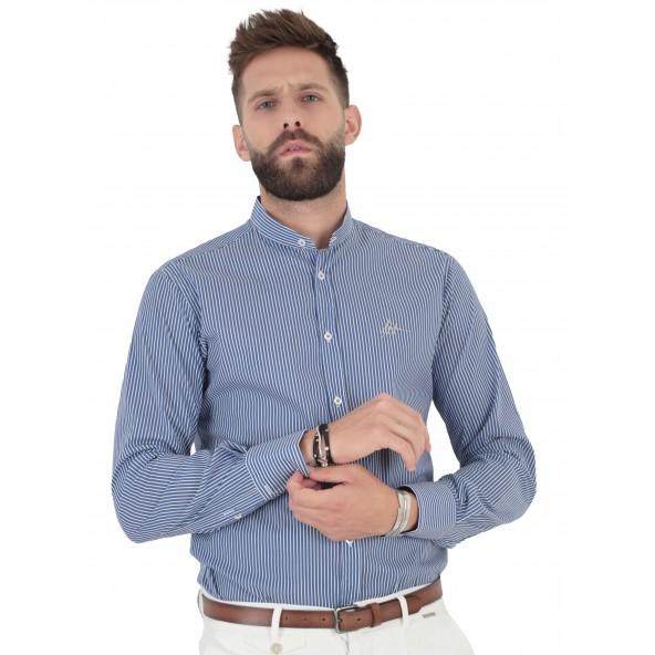 Stefan 9032-s/s 21 shirt blue