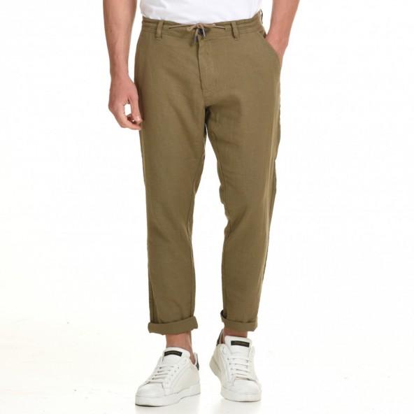 Splendid 45-241-001 παντελόνι λινό fango