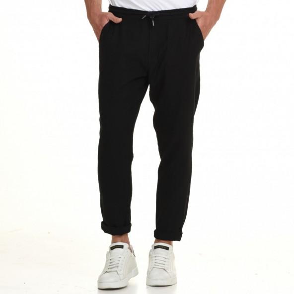 Splendid 45-241-001 παντελόνι λινό μαύρο