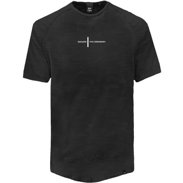 Double TS-156A T-Shirts Raglan Sleeve black