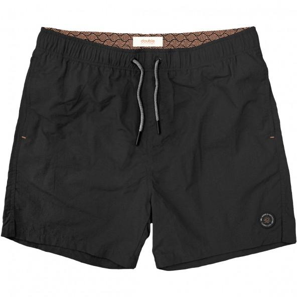 Double MTS-125A Swim Shorts Black