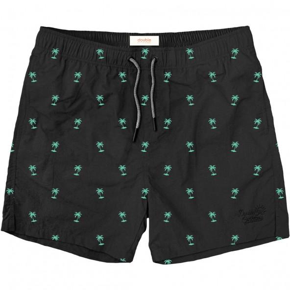 Double MTS-126A Swim Shorts black