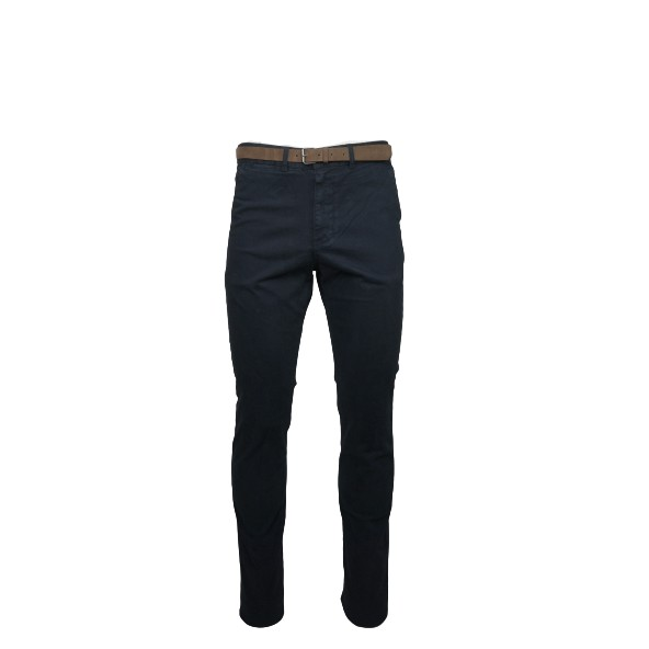 Dor's 2030001.C07 CHINO TROUSERS BLUE NAVY
