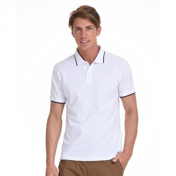 Biston 45-206-005 polo λευκό