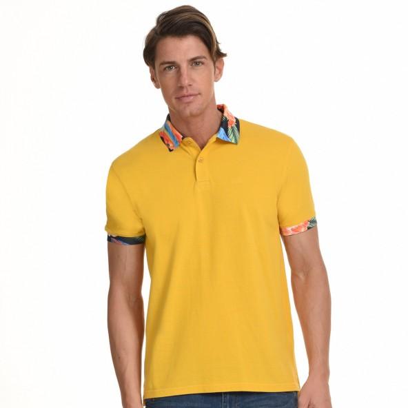 Biston 45-206-009 polo κιτρινο