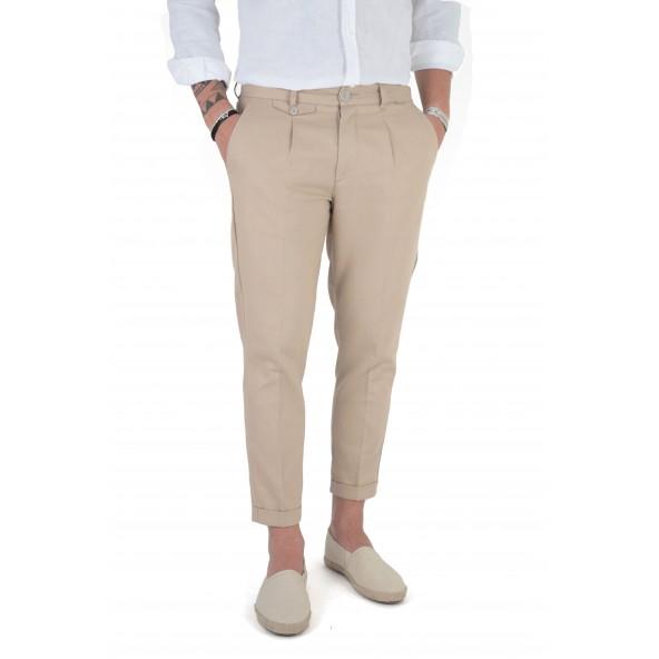 Stefan 6012 -S/S 21 παντελόνι beige