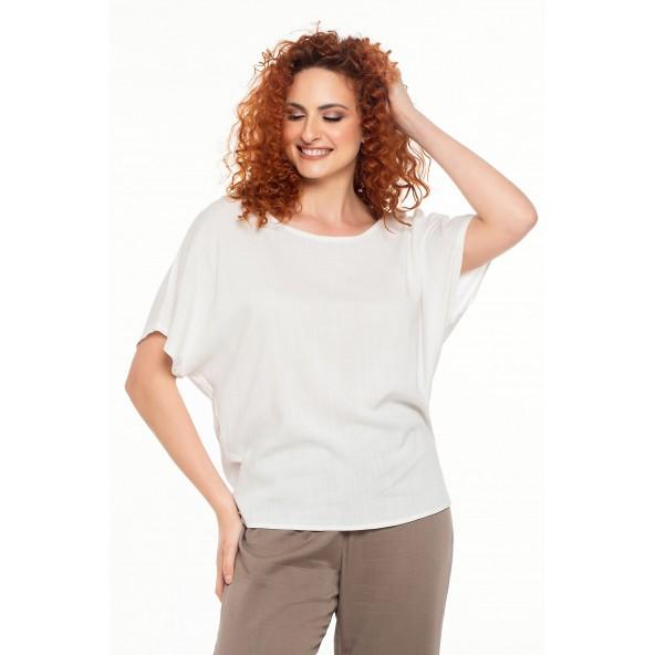 Ossigeno 211.210400 μπλούζα white