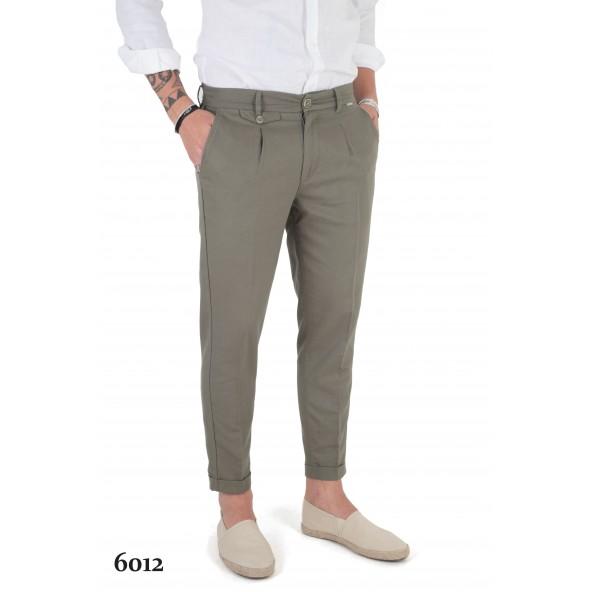 Stefan 6012 -S/S 21 παντελόνι khaki