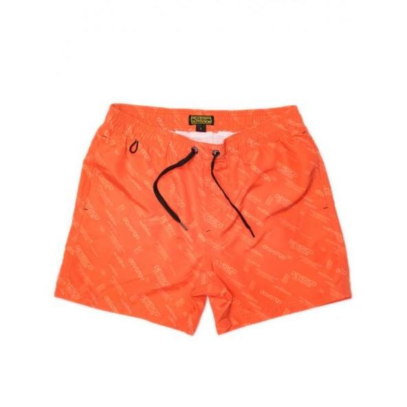 Devergo 1D21SS1053SP6000 Men's beach shorts orange